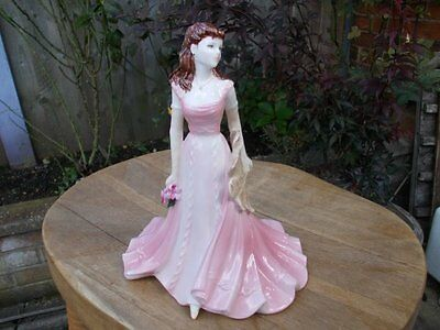 Coalport Marie From The Collingwood Collection  Figurine *stunning*