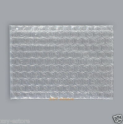 """10 Clear Small Packing Pouches Bubble Cushioning Wrap Bags 3"""" x 3.5""""_80 x 90mm"""
