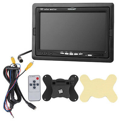"""7"""" TFT LCD Car Vehicle Auto Monitor for Reversing Rearview Camera Rear View PAL"""
