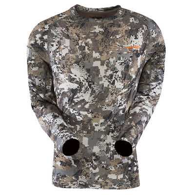 Sitka CORE LIGHTWEIGHT Crew Long Sleeve Elevated II Small NEW U.S. FREE SHIPPING