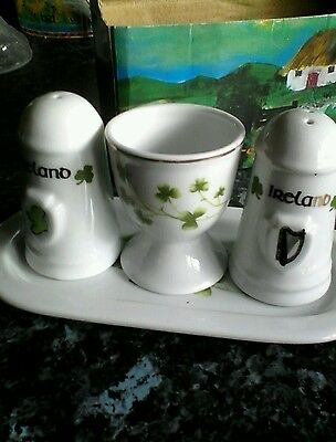 salt and pepper set of Ireland
