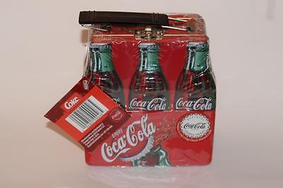 Coca Cola 6 Pack Lunch Tin With Cherry Flavored Candies