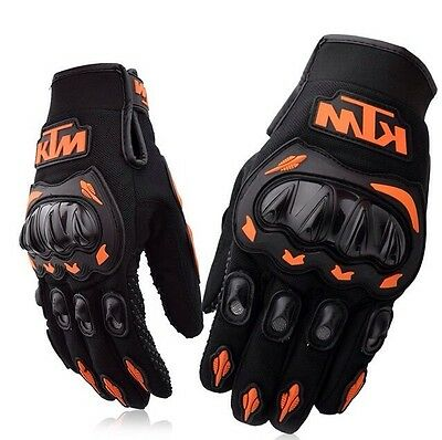 KTM Moto-X/Road Motorcycle Riding Gloves (New)
