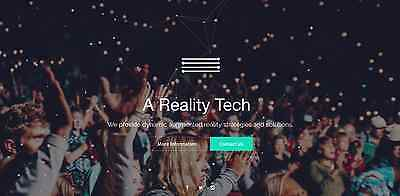 Augmented Reality Technology Reseller Services Site - great domain and site