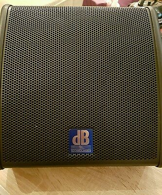 DB Technologies Flexys FM10 Active Stage Monitor with cover