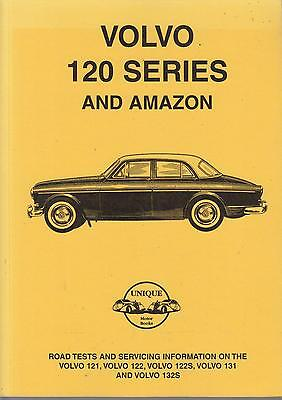 Volvo Amazon 121 122 122S 131 132S ( 1961 - 1970 ) Period Road Tests Book