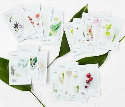 10, 100pcs 18kinds INNISFREE My Real Squeeze Mask 20ml Korea Cosmetics Skin Care