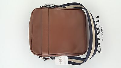 Brand New Coach Men's Leather Flight Bag F54782 CWH
