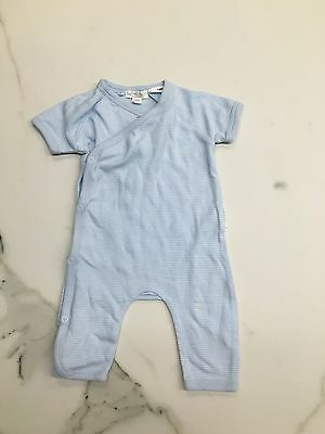 BNWOT Purebaby Striped Growsuit Size 0000. Gorgeous
