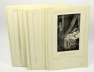 Illustrateurs Gallants - 56 Erotic Heliotypes (of engraving) French 1947
