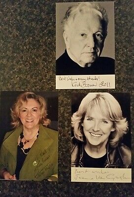 Comedy stars of Duty Free- lot signed photos-very clear-mint condition-bargain!!
