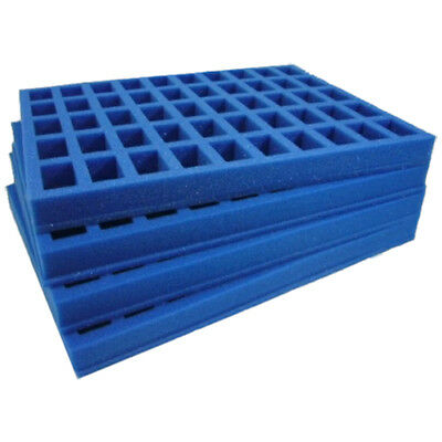 Foam trays hold 200 figures in one GW army case! Replace the 3GW trays! (GW-M45)