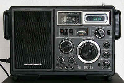 Collectable NATIONAL PANASONIC DR 28 Receiver - Model RF 2800BA shortwave radio