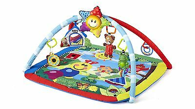 Baby Einstein Caterpillar & Friends Play Gym Mat for Playtime Filled with Music