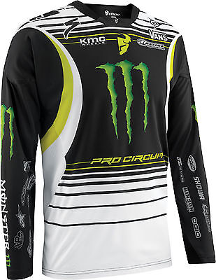 Thor Core Pro Circuit Monster Energy Jersey MX Motocross Adult XLarge SALE