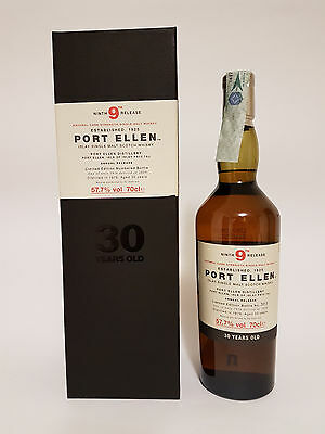 Whisky PORT ELLEN 9Th Release 1979 30 YEARS OLD 57,5%