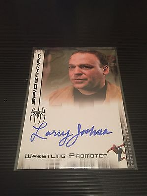 Larry Joshua As Wrestling Promoter In Spiderman 2007 Authentic Auto Autograph