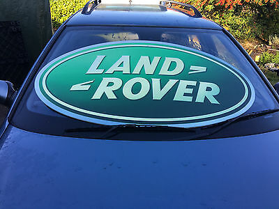 Classic Land Rover Sign