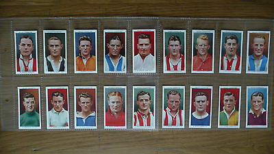 Wills's Gigarette cards (Footballers)