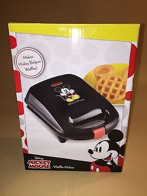 Disney Mickey Mouse Belgian Waffle Maker New Priority Shipping