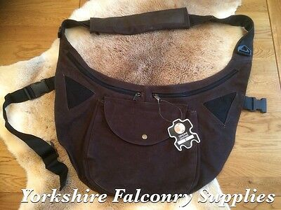 Clearance Of Stock !!!!! falconry Brown Leather Bag