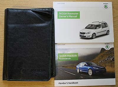 Skoda Roomster Handbook Owners Manual Wallet 2010–2015 Pack 11764