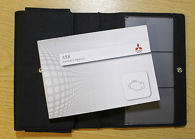Mitsubishi Asx Handbook Owners Manual With Wallet 2012-2017 Pack 6773