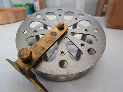 Early Grice & Young Centrepin Reel. Functional & RARE! See Listing and Pics
