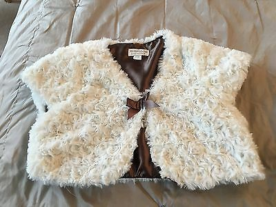 Girls Cream Bolero/shrug: Age 2-3 Years