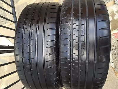 Continental Sport Contact 2 - 225 40 18 High Performance Tyres - Pair 4.5mm