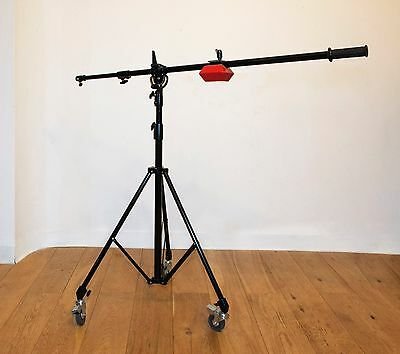Manfrotto 085BS Light Boom and Tripod and counter weight