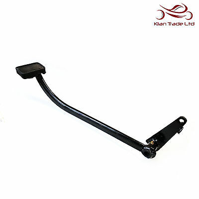 NEW ROYAL ENFIELD 350cc 500cc BLACK REAR BRAKE LEVER PEDAL WITH RUBBER 801031