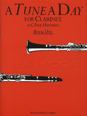 A Tune A Day for Clarinet 1 Sheet Music Book Learn How To Play Method