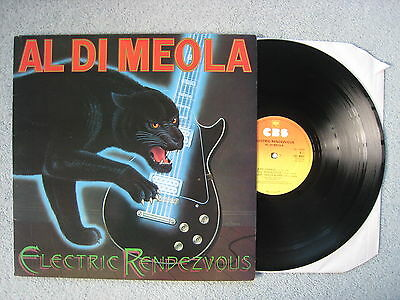 Al Di Meola - Electric Rendezvous. 1982 Jazz-Rock Fusion LP. EX/EX