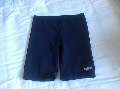 Speedo Endurance+ Junior Boys Swimming Jammer Shorts Swim Trunks Size 26