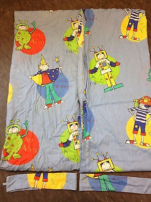 Boys Bedroom Curtains With Tie Backs