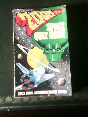 2000AD Space Quiz book,  Dan Dare, Robo-Hunter, Judge Dredd etc   1980 pbk