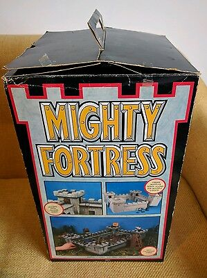 Games Workshop Mighty Fortress Vintage Warhammer VGC Boxed Complete