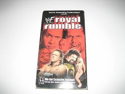 WWF Royal Rumble 2000 VHS Wrestling wwe Cactus Jack Vs HHH