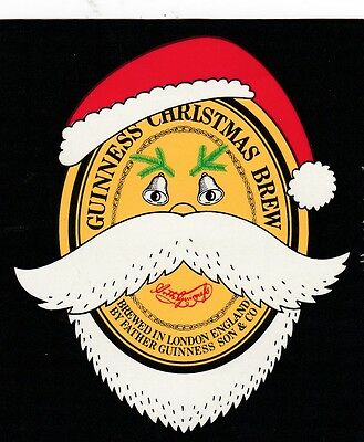 GUINNESS - CHRISTMAS BREW 1981 - Beer Label