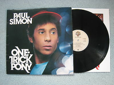 Paul Simon - One Trick Pony. 1980 OST LP. A1/B1. EX/VG+