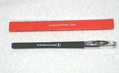 Turkish Airlines Airways Pen New (Blue Liquid Gel Ink)