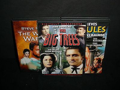 Lot of 5 Classics Oldies Older DVD Movies Videos Thin Cases