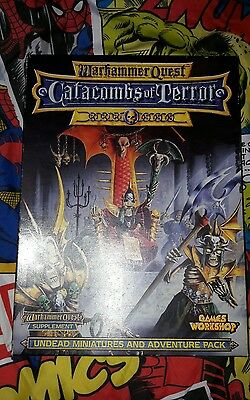 catacombs of terror plus extras, warhammer quest.