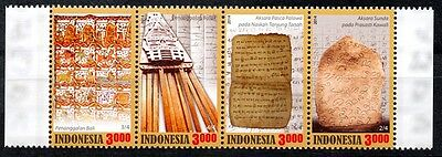 Indonesia 2014 Traditional Calendar & Scripts Strips of 4 MNH**