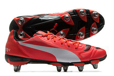 Mens Puma Evo Power 4.2 H8 Rugby Boot In Sizes 7,8,910,11,12 And 13 Rrp £55.00