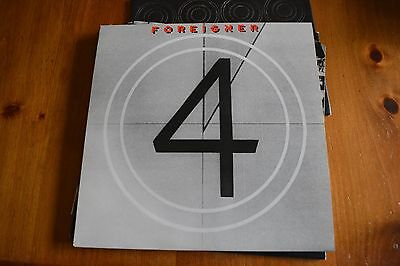 "FOREIGNER  12"" VINYL LP RECORD titled ""4"""