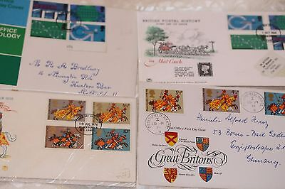 Four first day covers - alternatives  - Lot 150
