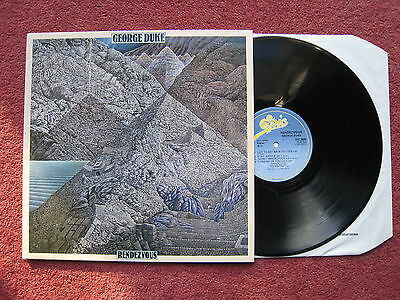 George Duke - Rendezvous. 1984 Jazz-Funk Fusion LP. NM/EX