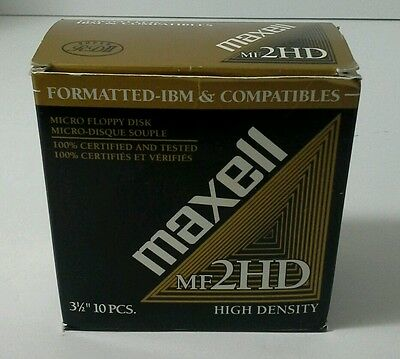 Maxell Formatted- IBM & Compatibles 2 HD